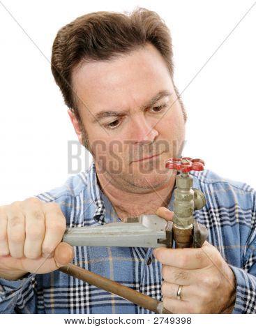 Plumbing Repair Closeup