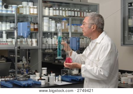 Chemist In Lab