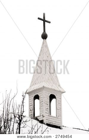Old Country Church Steeple