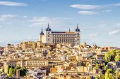 Panorama Toledo.panorama Toledo. The Capital Of The Province Of Toledo. Spain poster