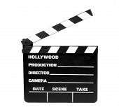 stock photo of crew cut  - isolated movie slate  - JPG