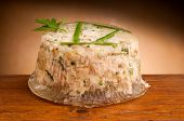 aspic of salmon pate