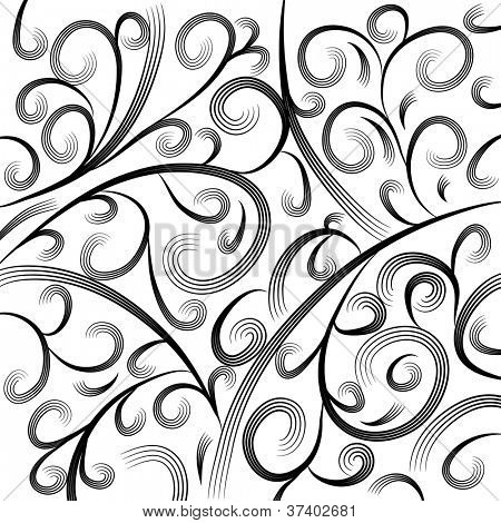 An image of a wave engraving background.
