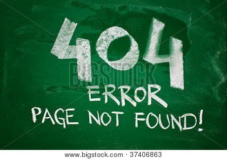 404 Error, Page Not Found