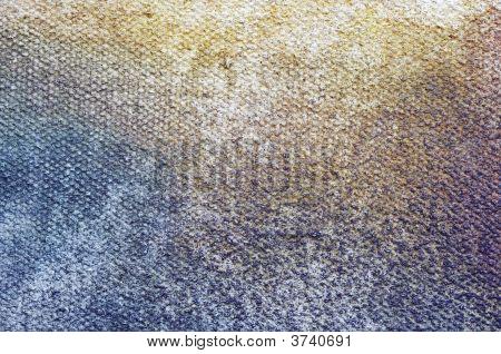 Used Artistic Canvas - Closeup
