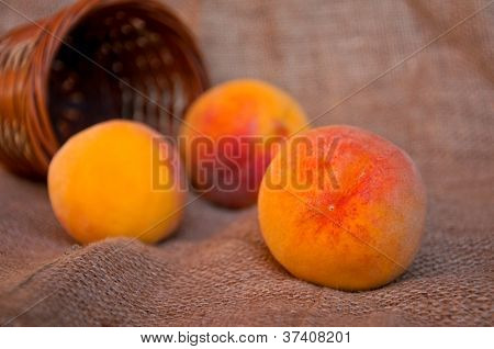 Peaches And Punnet