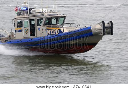 NYPD Speed Boat Patrol