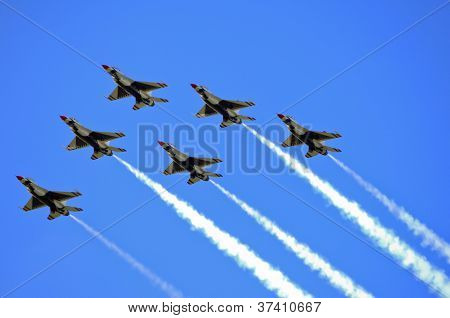 U.S. Navy Blue Angels F/A-18 Hornets