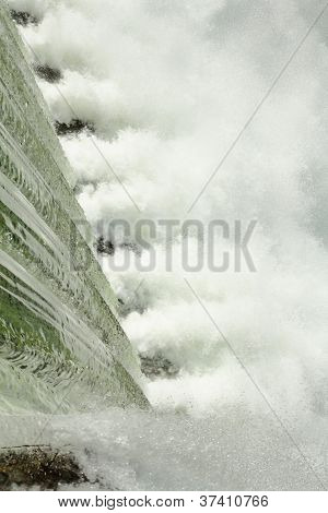 Rushing Water, Dam Spillway