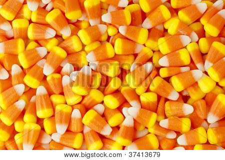 Halloween Striped Candy Corn