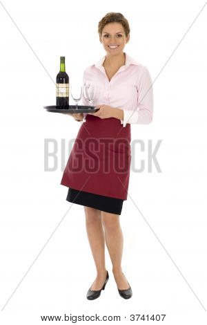 Waitress With Wine