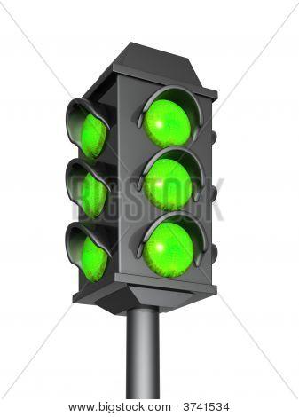 grüne zeigt