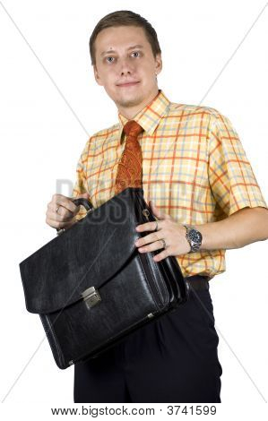 Young, Elegant Businessman