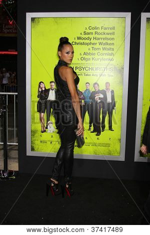 "LOS ANGELES - OCT 30:  Dania Ramirez  at the ""Seven Psychopaths"" Premiere at Bruin Theater on October 30, 2012 in Westwood, CA"