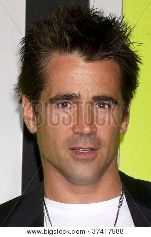 "LOS ANGELES - OCT 30:  Colin Farrell arrives at the ""Seven Psychopaths"" Premiere at Bruin Theater on October 30, 2012 in Westwood, CA"