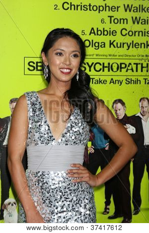 """LOS ANGELES - OCT 30:  Samantha Cutaran  at the """"Seven Psychopaths"""" Premiere at Bruin Theater on October 30, 2012 in Westwood, CA"""