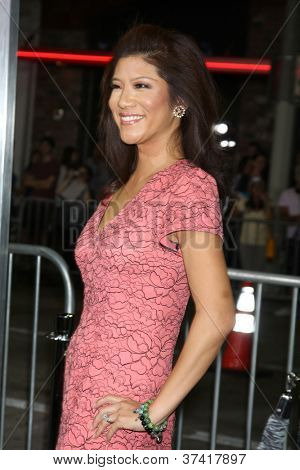 "LOS ANGELES - OCT 30:  Julie Chen  at the ""Seven Psychopaths"" Premiere at Bruin Theater on October 30, 2012 in Westwood, CA"