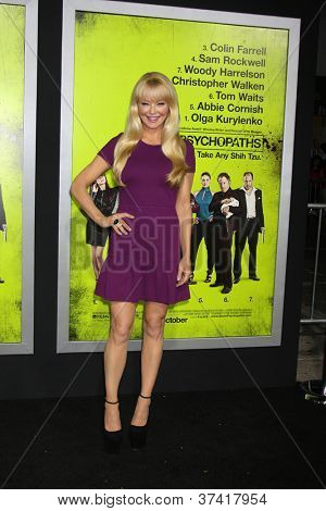 "LOS ANGELES - OCT 30:  Charlotte Ross  at the ""Seven Psychopaths"" Premiere at Bruin Theater on October 30, 2012 in Westwood, CA"