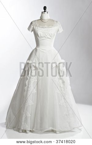 Vintage Wedding Dress 1950S Princess Style