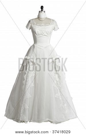 Vintage Wedding Dress 1950S Princess Style