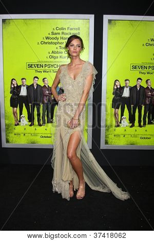 """LOS ANGELES - OCT 30:  Christine Marzano  at the """"Seven Psychopaths"""" Premiere at Bruin Theater on October 30, 2012 in Westwood, CA"""