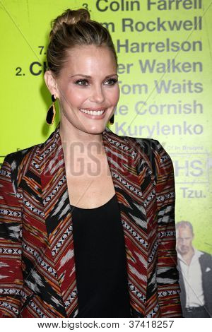 LOS ANGELES - OCT 30:  Leslie Bibb  at the