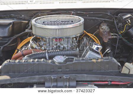 White Chevy Impala Ss Engine