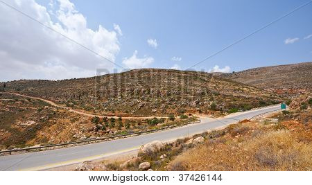 Road In Samaria