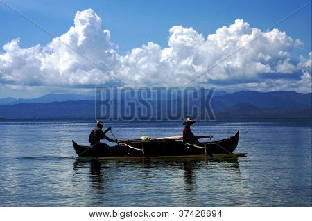 Fishing In Madagascar Sea