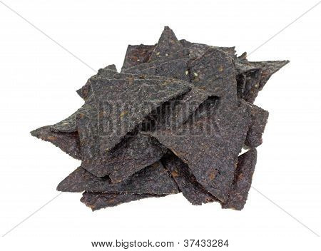 Stack Blue Corn Tortilla Chips
