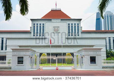 Edificio del Parlamento de Singapur