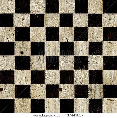 Vintage xadrez fundo de tabuleiro de xadrez.