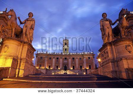 Estatua ecuestre de Marco Aurelio y Comune Roma Gabinetto Sindaco
