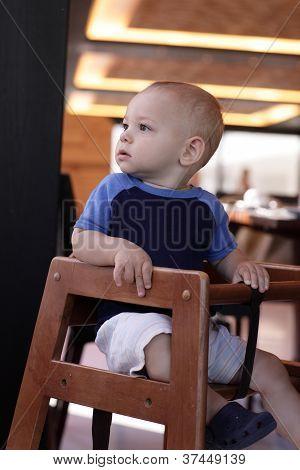 Baby In Restaurant