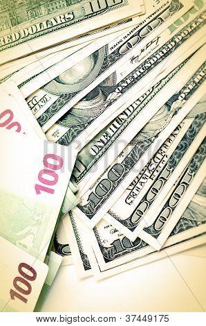 Dollar And Euros