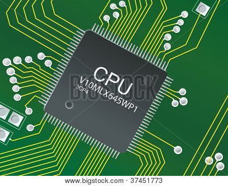 Cpu Circuit Board