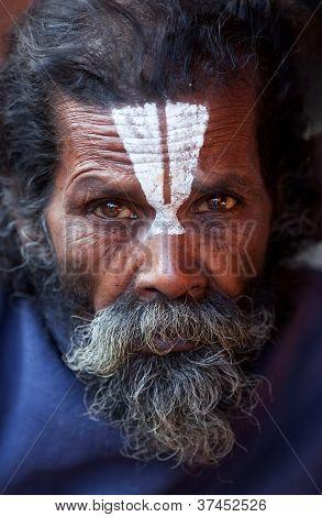 shaiva sadhu (holy man), Nepal