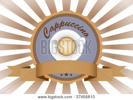 Cappuccino Badge