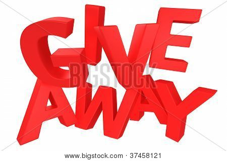 Giveaway In Red