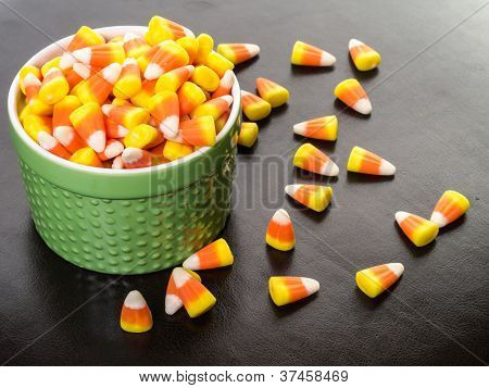 Halloween Candy Corn Buffet
