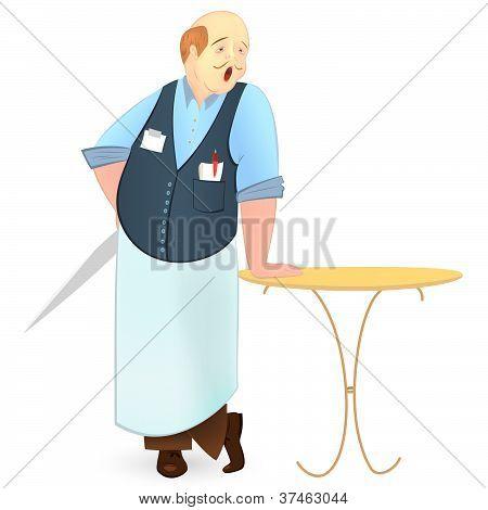 Bold Cook Vector Illustration