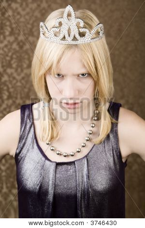 Menina com raiva