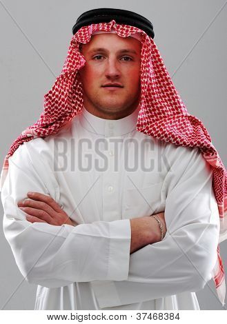 Arabic man portrait