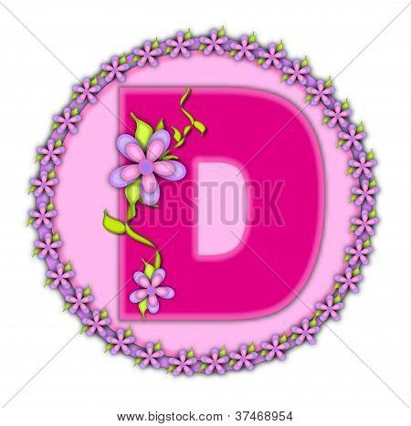 Alphabet Daisy Chain D