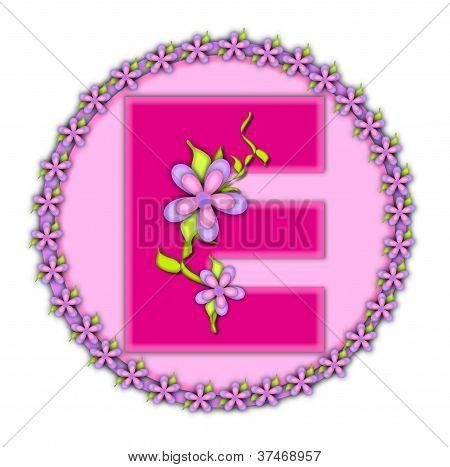 Alphabet Daisy Chain E