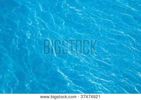 blue water caustics backdrop