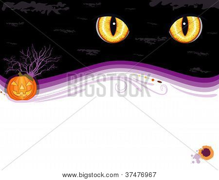 Grungy Halloween Party Invitation Card