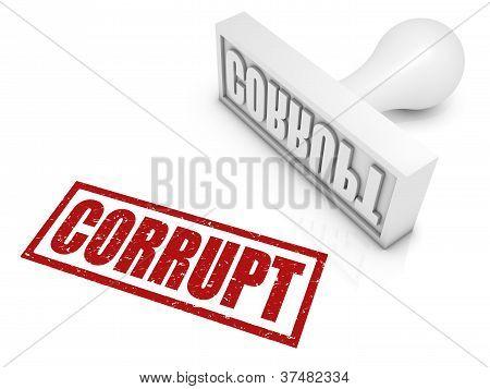 Corrupt Rubber Stamp