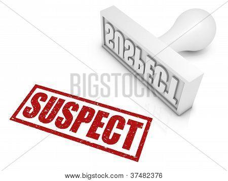 Suspect Rubber Stamp