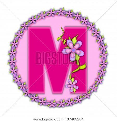 Alphabet Daisy Chain M